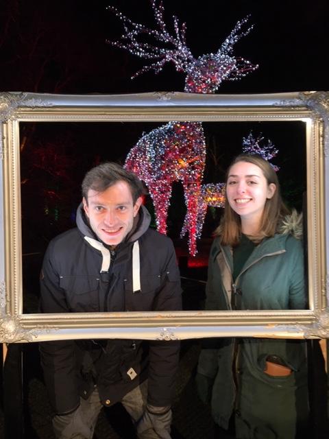 Dan and Heather at Dunham Lights